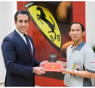 Ferrari Qatar wins honorable awards