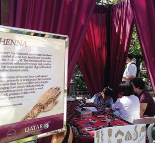 Qatar Airways Los Angeles Pop-Up Event