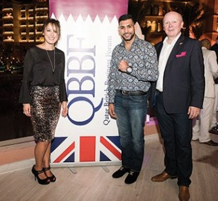 QBBF Host World Champion Boxer Amir Khan
