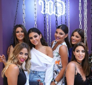 Urban Decay Sizzles with Edginess at Opening of ABC Verdun