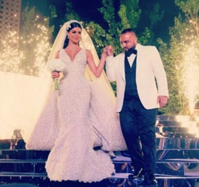 Rima Fakih and Wassim Salibi's wedding