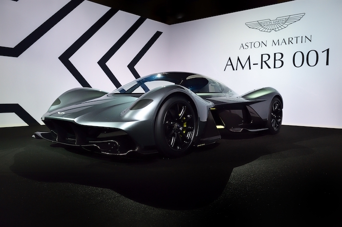 AM-RB 001 Hypercar Unveiled in the Middle East