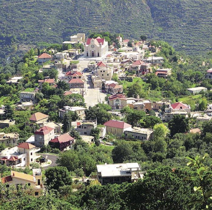 Bkassine village