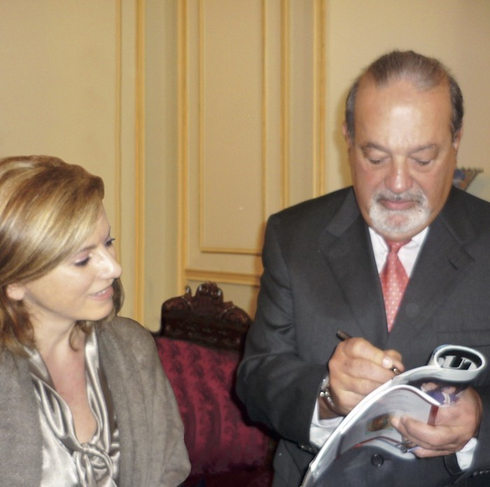 Carlos Slim Helu: Back home in Lebanon after 46 years