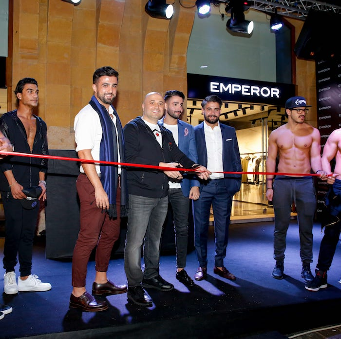 The EMPEROR Flagship Store in Beirut