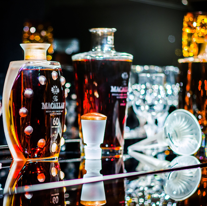 The Macallan in Lalique Legacy Collection Sets New World Record at Sotheby's Hong Kong Auction